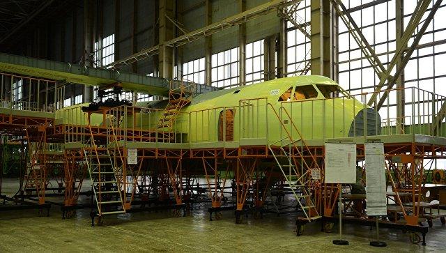 Самолёт Ил-112 смонокрылом впервый раз в РФ сделали наворонежском авиазаводе