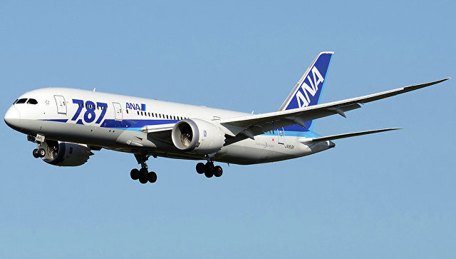 Boeing 787 Dreamliner авиакомпании All Nippon Airlines (ANA)