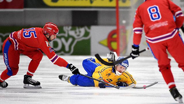 Сборная Российской Федерации проиграла Швеции вфиналеЧМ похоккею смячом