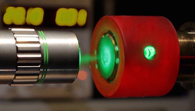 Лазер. Архивное фото