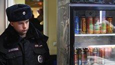 Рейд по выявлению контрафактного алкоголя в Москве. Архивное фото