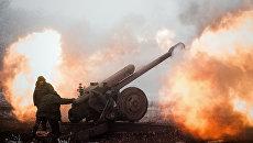 Артиллерия в Донбассе. Архивное фото
