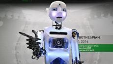 Робот производства Engineered Arts в Музее науки в Лондоне