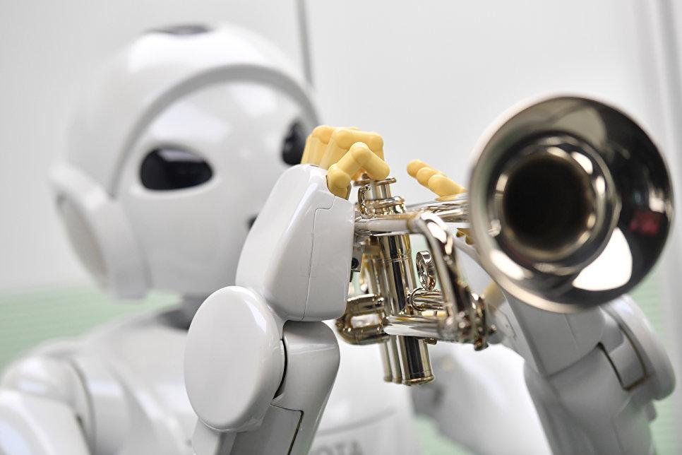 Выставка роботов встолице Англии