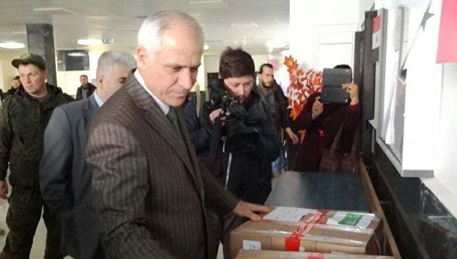 Фонд Доктора Лизы доставил вСирию неменее 200кг медикаментов для детей