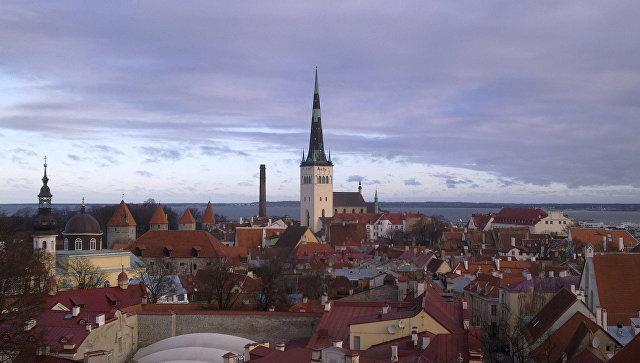 Вид на Старый город Таллина. Архивное фото