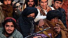 Афганские талибы в провинции Фарах. Архивное фото