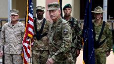 Командующий силами США в Афганистане генерал Джон Николсон. Архивное фото