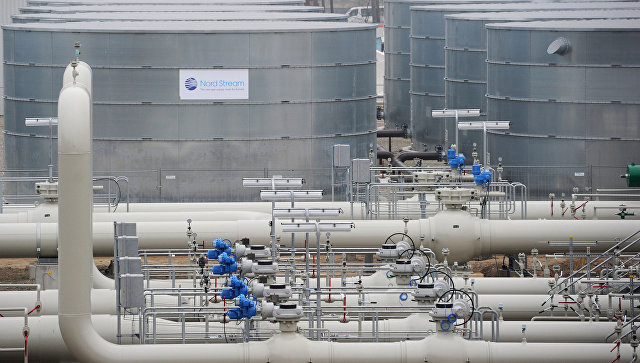 Магистральный газопровод в Германии. Архивное фото
