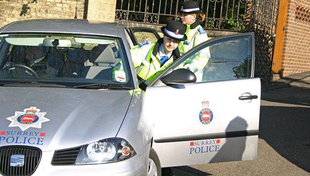 Сотрудники британской полиции. Архивное фото
