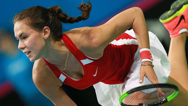 Макарова иВихлянцева вывели РФ вплей-офф Мировой группы Fed Cup
