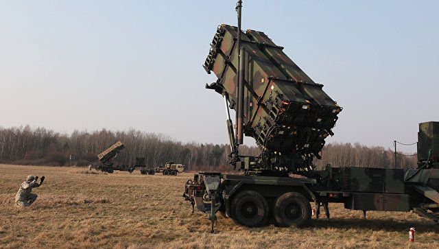 Cистема ПВО Patriot. Архивное фото