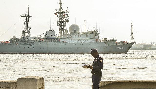 Военный корабль МВФРФ «Виктор Леонов» патрулировал восточное побережье США— Fox News