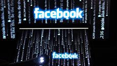 Социальная сеть Фейсбук .Архивное фото