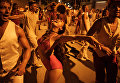 Репетиция карнавала в Рио-де-Жанейро, Бразилия