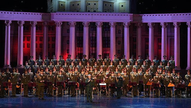 Первое выступление ансамбля имени Александрова в обновленном составе