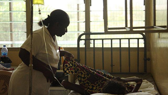Африканская больница. Архивное фото