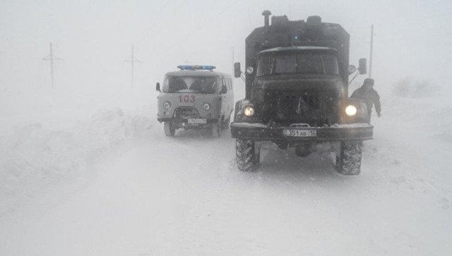 Автомобили МЧС Казахстана. Архивное фото