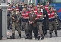 Участники попытки покушения на президента Турции Тайипа Эрдогана перед началом суда в городе Мугла