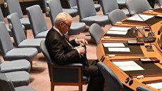 Постоянный представитель России при ООН Виталий Чуркин. Архивное фото