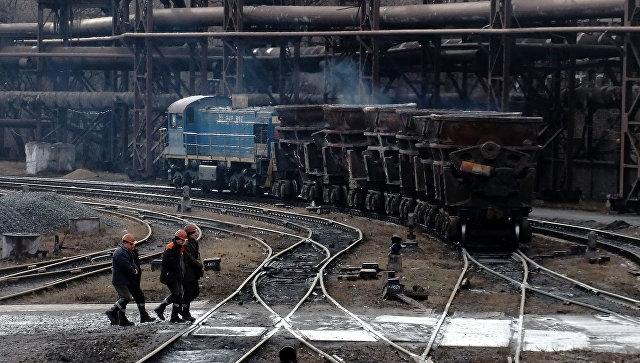 Енакиевский металлургический завод. Архивное фото