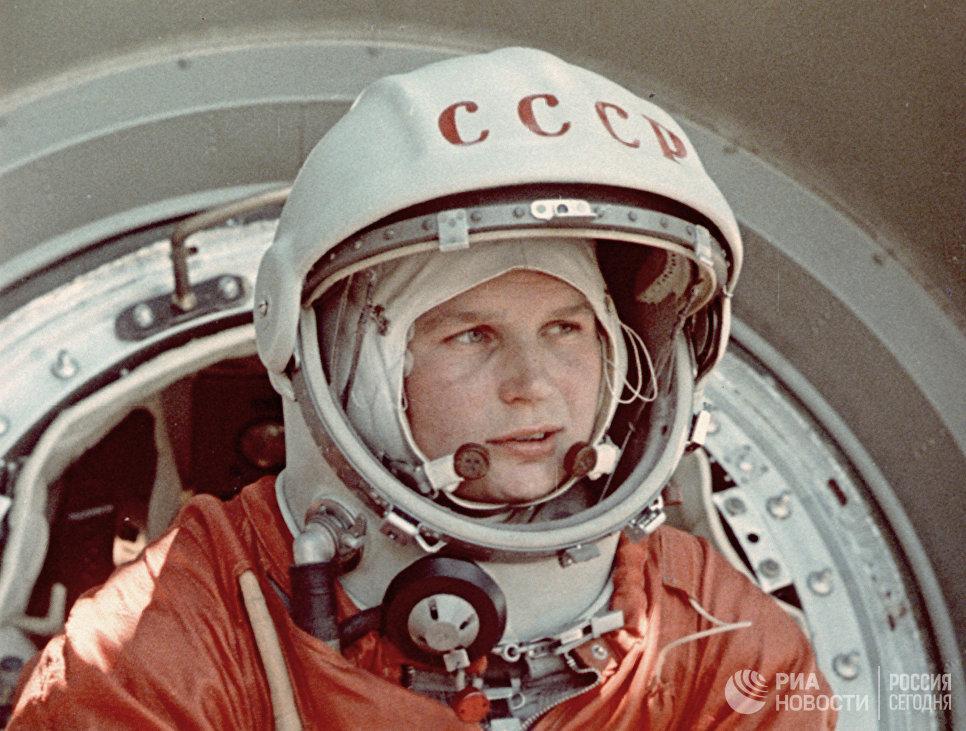 Валентина Терешкова. Кадр из документального фильма Советы в Космосе