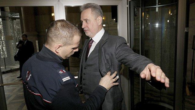 Фирташ взят под стражу в Австрии