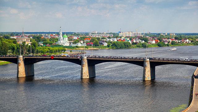 Мост через Волгу в Твери. Архивное фото