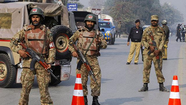 При взрыве впакистанском Лахоре погибли семеро, ранены 15 человек