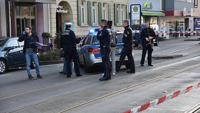 ФРГ: ножевика, задавившего группу пешеходов, подстрелили