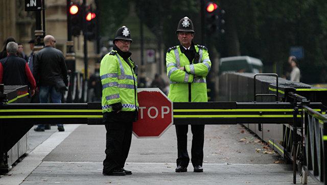 Британские полицейские. Архивное фото