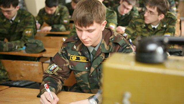 Курсанты военного вуза. Архивное фото