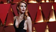 Эмма Робертс на 89-й церемонии вручения Оскара в Лос-Анджелесе