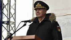 Командующий Черноморским флотом РФ адмирал Александр Витко. Архивное фото