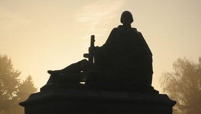 В польском Ольштыне осквернили памятник Благодарности Красной армии