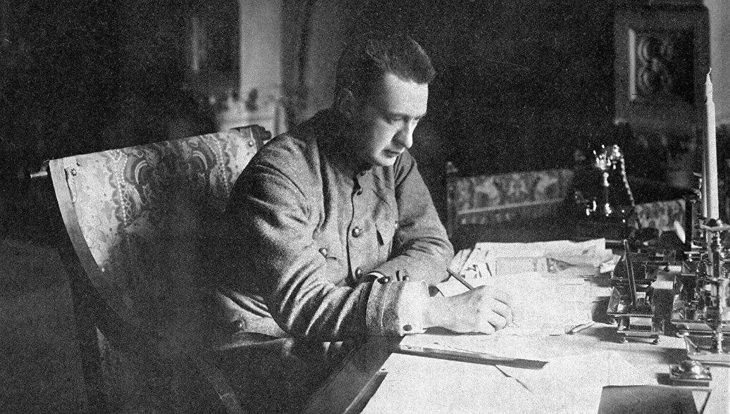 Министр-председатель Временного правительства Александр Керенский