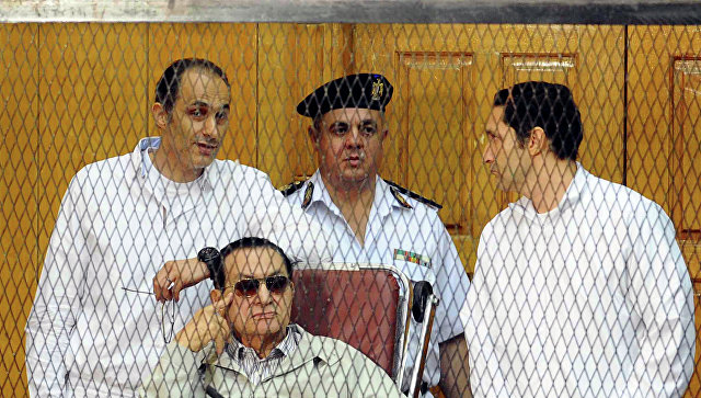 Экс-президент Египта Мубарак оправдан поделу о погибели демонстрантов