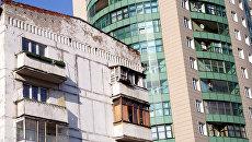 Здания в Москве. Архивное фото