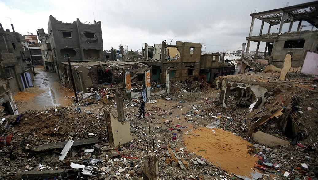 Число палестинцев, убитых в стычках на границе Газы, возросло до 5