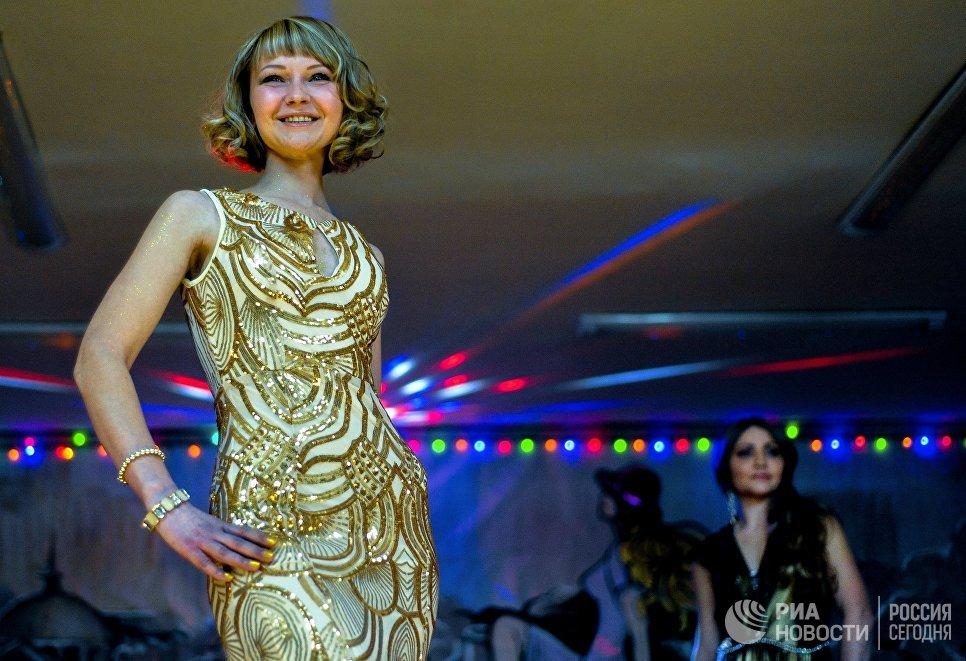 Участницы конкурса красоты среди осужденных Мисс весна - 2017 в колонии общего режима для женщин ИК-10 УФСИН России по Приморскому краю
