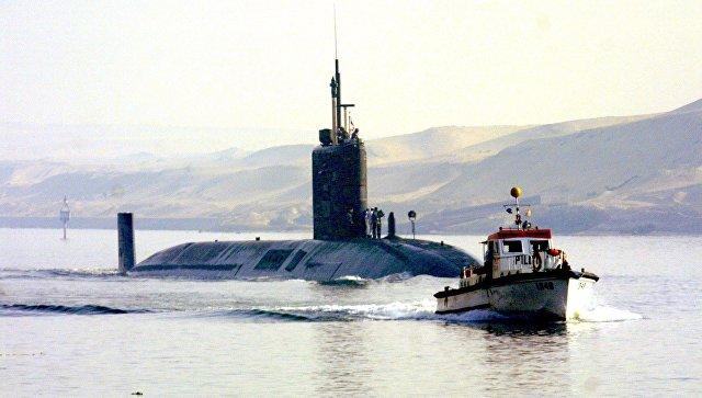 Британская подлодка HMS Trafalgar. Архивное фото