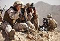 Женщина-военнослужащая из Корпуса морской пехоты США