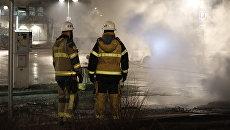 Шведские пожарные. Архивное фото