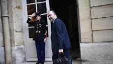 Еврокомиссар Пьер Московиси в Париже. Архивное фото