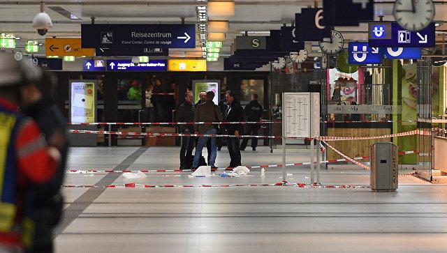 Вооруженный тесаком выходец изКосово атаковал вокзал вДюссельдорфе
