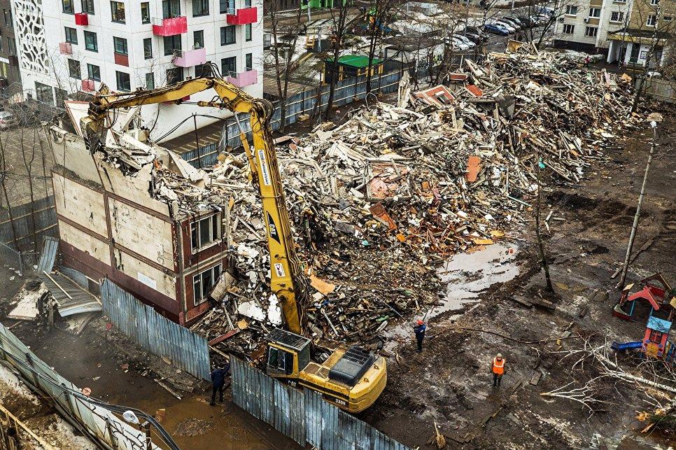 В Государственную думу внесли законодательный проект обусловиях переселения изсносимых пятиэтажек столицы