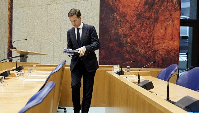 Премьер Нидерландов назвал критику Эрдогана вадрес Амстердама лишней