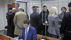Рассмотрение в Тверском суде ходатайства следствия о продлении срока ареста в отношении Захария Калашова. Архивное фото