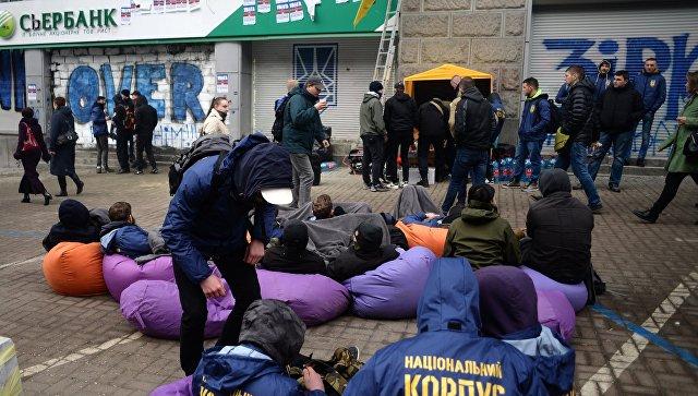 После порчи банкоматов сберегательный банк ограничивает выдачу наличных вУкраинском государстве