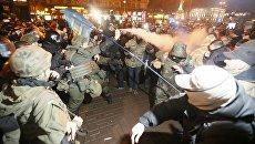 Митинг радикалов и их сторонников в центре Киева